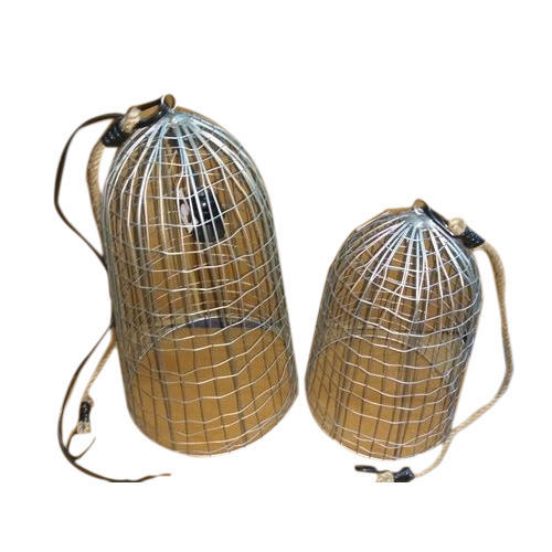 Incandescent Warm White Iron Birdcage Pendant Light Set