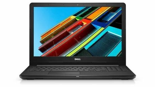 Black Dell Inspiron 15 3565 Laptop, Rams Computer Digital Print And