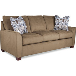 Wooden 3 Seater Sofa Set