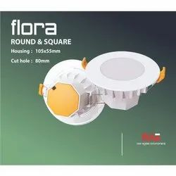 Flora Joy Round LED Downlite Housing