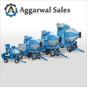 Mobile Concrete Mixer Machine( Reversible)