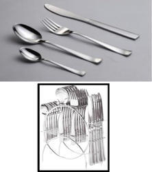 Cutlery Set with Stand
