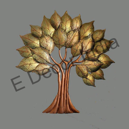 Metal Tree Wall Decor, Dhaatu Deewar Sajavat - E Decor India ...