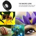 2 In 1 Professional Lens Kit 0.6x Super Wide Angle And 15x Super Macro Mobile Phone Len''S