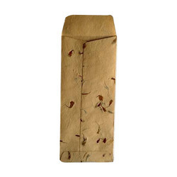 Printed Handmade Craft Paper Envelope, Size: 3x6 Inch