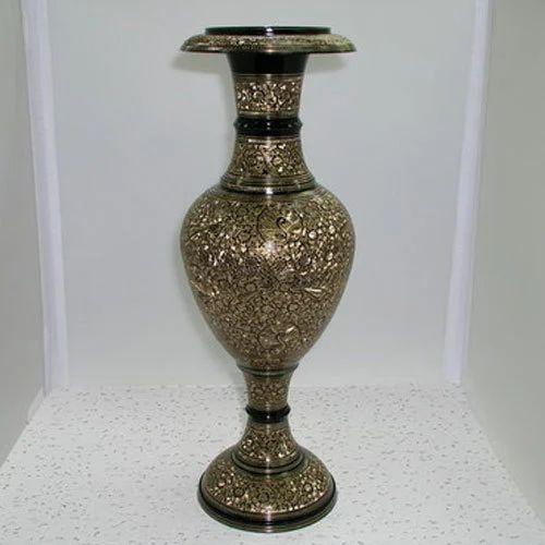 Brass Flower Vase At Rs 750 Kg Metal Flower Vase Id 14678921212