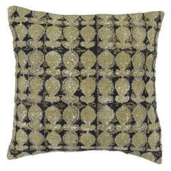 Embroidered Handmade Cotton Cushion Cover