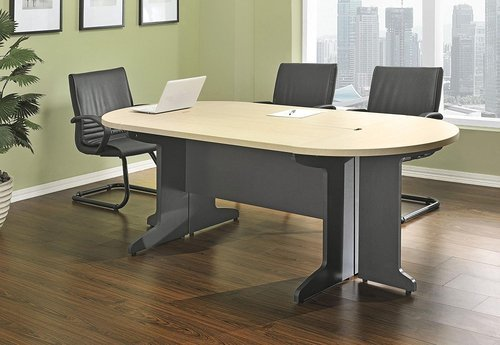 rectangular round multicolor small conference table - Small Conference Table