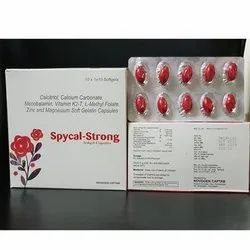 Spycal Strong Capsule, Packaging Size: 10x1x10 Tablet, for Clinical