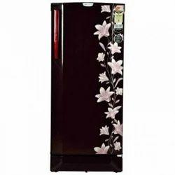 3 Star Stainless Steel Godrej Refrigerator, 190 CT 3.2