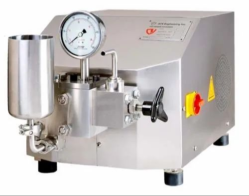2000 bar Lab Scale High Pressure Homogenizer, For Pharmaceuticals,  Capacity: 0-100 litres/hour, Rs 900000 /unit | ID: 21849225633