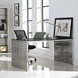 Rectangular Steel Office Table