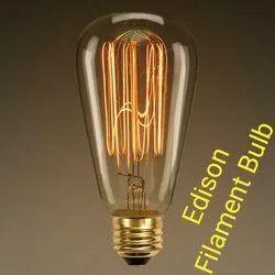 Ryna 11 W Edison Filament Bulb, Base Type: E27, 2700-3000 K