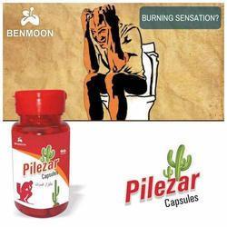 Benmoon Pharma Piles Capsule (Pilezar), Packaging Size: 60 Capsules