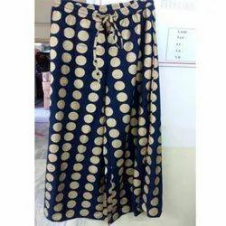 Poly Shantoon Gold Print Fabric