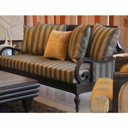 Wooden Sofa Set At Rs 35000 Piece, Small Wooden Sofa Set Designs
