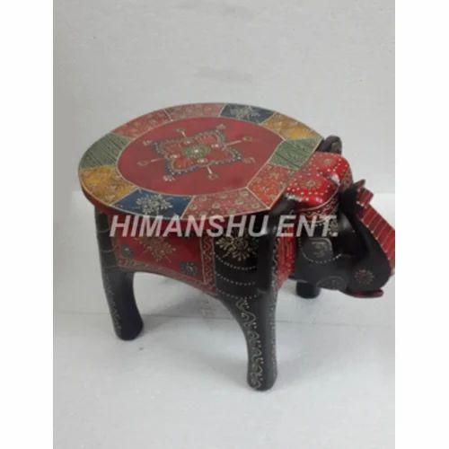 Sensational Decorative Stools Handcrafted Elephant Stool Manufacturer Theyellowbook Wood Chair Design Ideas Theyellowbookinfo