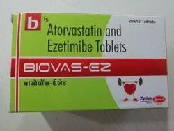 Atorvastatin Calcium IP Ezetimibe .