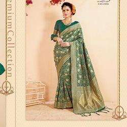 Fancy Weaving Silk Saree