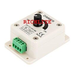 White Square LED Dimmer