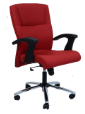 Black And Red Office Chairs-ifc031, Yes