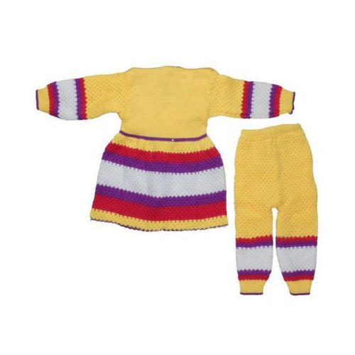 608b1c4c4 Multicolor Kids Girls Woolen Suit