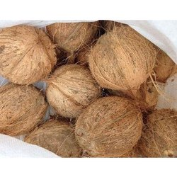 Pure Semi Husked Coconut