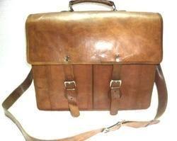 Briefcase Office Shoulder Leather Bag