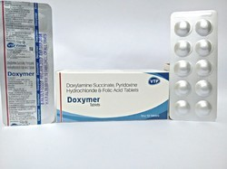 Doxylamine Succinate  Pyridoxine HCL Folic Acid Tablets