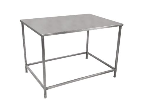 SILVER Stainless Steel S S Office Table Size Feet FOOT And - 5 ft stainless steel table