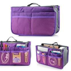 Purple Hand Bag Organizer