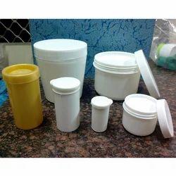 Plastic Bleach Jar