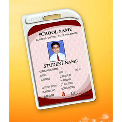 Students Sticky ID Card