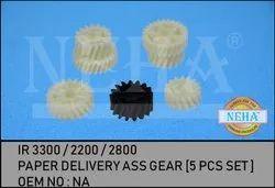 Paper Delivery Ass Gear  5 Pcs Set  IR 3300 / 2200 / 2800
