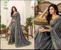 Party  maroon Color Designer Fancy Wear  Sarees