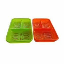 Rectangular Plastic Soap Dish