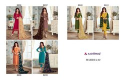 Georgette Embroidered  Unstitched Salwar Suits