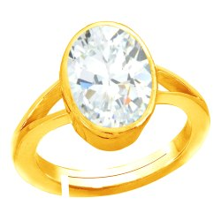 Zircon Ring Women and Men Panchdhatu Gemstone