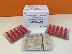 Lycopene with Multivitamin Capsules, Packaging Type: Box