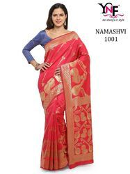 Party Wear Kanjivaram Art Silk Saree