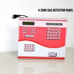 4 Zone Gas Detector Panel