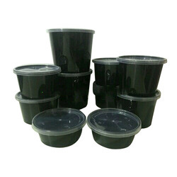 Black Food Grade Packaging Container