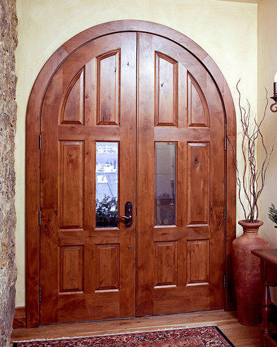 Arched Curved Entry Double Door Sizedimension Custom Rs 70000