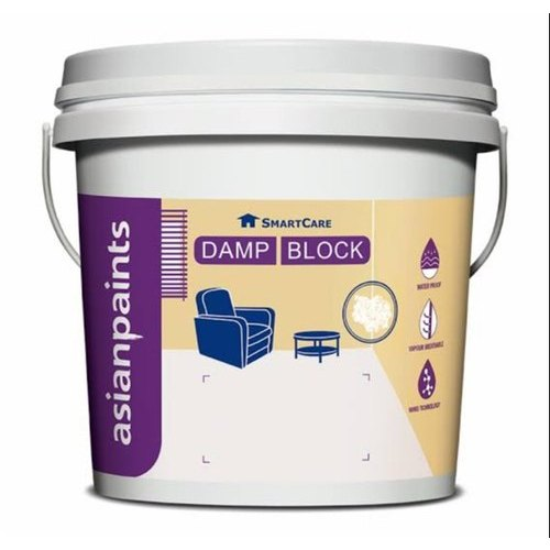 Asian Paints Waterproofing Damp Block Packaging Type Bucket Packaging Size 20 L Rs 335 Kg Id 21776026062