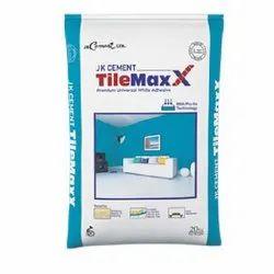 JK White Ceramic Tile Adhesive, Packaging Type: Pp Bag, Packaging Size: 40 Kg