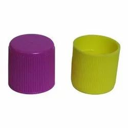 Screw Cap Green, Purple Round Plastic Bottle Cap, Packaging Type: Packet