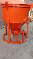 Center Discharge Cone Type Concrete Bucket