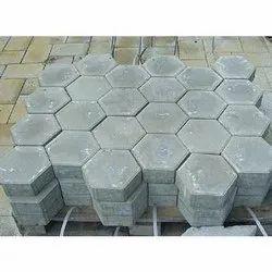 Hexagonal Concrete Paver Block