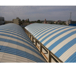 Curved Structureless Roofing