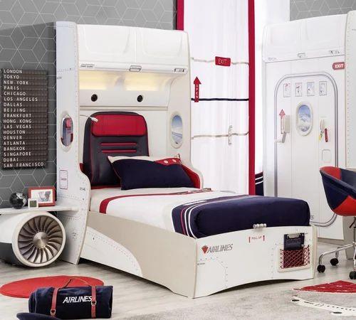 Small, Medium Woodpoints Kids Bedroom Set, Size/Dimension: Medium